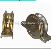 U Y V groove bearing automatic sliding steel swing gate wheel