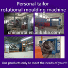 3 arm oven rotational moulding machine plastic moulded sofas