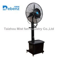 Debenz brand water evaporative air cooling fan mist humidifiers fan with water mist CE ROHS
