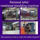 4 arm rotational moulding machine decorative furniture moulding