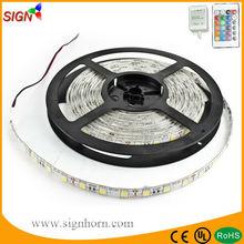 Discounted 10% 12V 300 leds PI65 5m RGB/single color flexible led rgb strip 100m