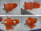 China manufacture reduction geared motor cycloidal pinwheel electricity power gear steering gear box