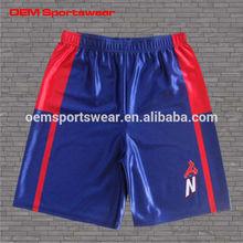 Wholesale custom design sublimation basketball shorts