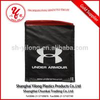 High quality printing customized colored drawstring bag plastic bag cotton bag drawstring