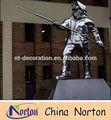 Soldado/trabalhador açoinoxidável estátua humana nts-131