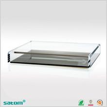 New design dongguan supplier acrylic slatwall tray