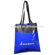 new designer shop tote bag / hot colorful shopper tote bag / promotional non woven shopping tote bag