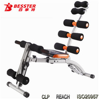 Best -060S Six Pack Care abdominal fitness plastic core push up machinesit up ab machine as seen on TV