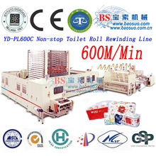 High speed toilet paper machine production line