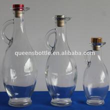 Engine oil bottle oil sample glass bottle for oil or vinegar