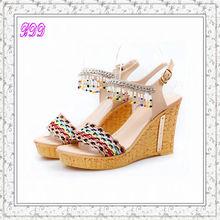 ladies designer platform sandals