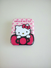 Hinged metal tins from china supplier sale customized mint metal tin with hinged lid