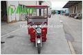 Certificado CE e triciclo gasolina motor triciclo 48 V 750 W