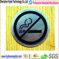 baratos personalizados de impresión de metal logotipo seguridad industrial