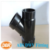 ABS 1.5 inch reducing wye fittings / pvc water pipe fittings / drain fitting