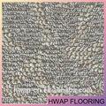 Madeira / pedra / série tapete de luxo de azulejo de vinil piso PVC sem necessidade de cola