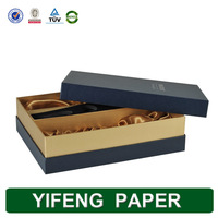 red wine and bottle opener packaging carrier paper box with foam inside
