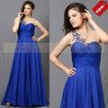 longueur du plancher cy62629 bleu royal court robe de soirée design italien