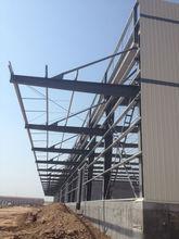 low cost outdoor portable Top Build steel frame garage