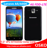 Original Lenovo A8 4g lte mobile dual sim wifi MTK6592 Octa Core 13.0MP 2GB RAM android 4.4
