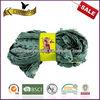 gorgeous acrylic polyester lace scarf yarn stretch knit twirly scarf