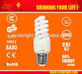 Hot! T2 9 W MINI espiral bulbo de energia de 8000 H CE qualidade CFL