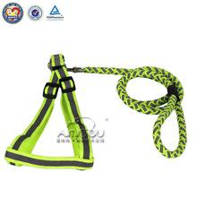 easy walk dog harness & nylon dog leash & pet collar and leash
