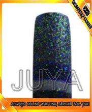 JY-GT49 Thin Glitter Natural Nail Tips
