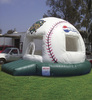 inflatable used jumping castles with windows A1122