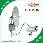 5.8ghz 30km outdoor long distance wireless audio surveillance equipment