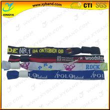 Xingya promotion woven thin wristband