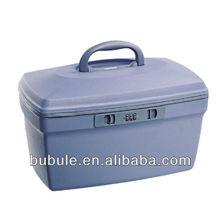 hard plastic beauty cases travel vanity cosmetic case waterproof zip lock bag BC06