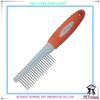 PR80015-2 fashional new deshedding dog pet comb with soft comfortable handle