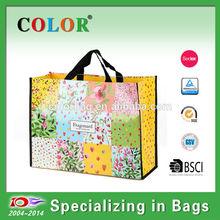 Newly sell OPP laminated pp non woven bag,shopping bag pp non woven