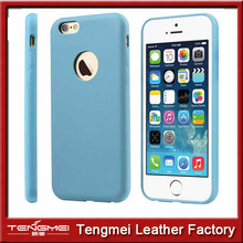 Luxury Ultra Thin Soft PC PU Matte Back Case Cover Skin for Apple iPhone 6 4.7