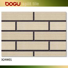 split outside wall tiles,terracotta tile for wall,red clay tile
