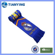 fashion real madrid soccer fans scarf