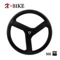 XBIKE high stiffness T1000 lightweight road bike carbon three spoke carbon wheel