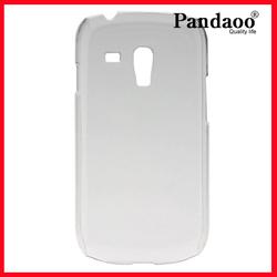 Plastic transparent Hard Case for Samsung Galaxy S3 Mini I8190
