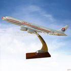 CUSTOMIZED LOGO RESIN MATERIAL model airplane handicraft