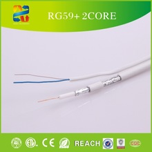 China high quality low loss 75 ohm coaxial cablerg59 power for satellite