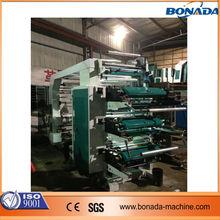 YT Series 6 color plastic film flexographic printing machine/high speed flexo printing machine/flexography printing machine