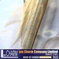 liso blanco velo de tul de nylon tela organdí de