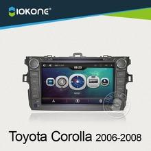 dubai wholesale market toyota corolla navigation system usb car reverse camera for 2006-2008