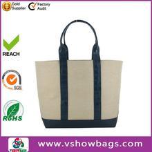 made in Guangzhou woman's bag canvas handbag