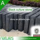 black slate bathroom wall panels