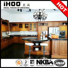 New Design Hot Selling Kitchen Cupboard Kitchen Unit Solid Wood Kitchen Cabinet