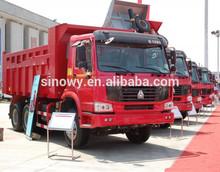 Sinotruk Howo 6 x 4 utilizado kia camiones en corea