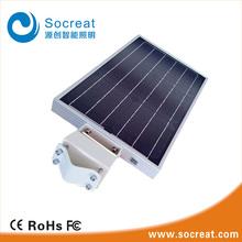 IP 65 Solar Power Supply and Garden Application Motion Sensor Garden Security integrated solar led street light