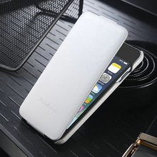 New coming flip leather case cover for iphone 6, up & down function